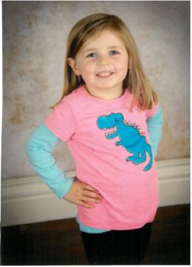 sophia dinosaur shirt